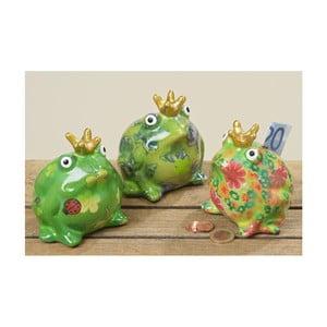 Zestaw 3 skarbonek terakotowych Boltze Frog