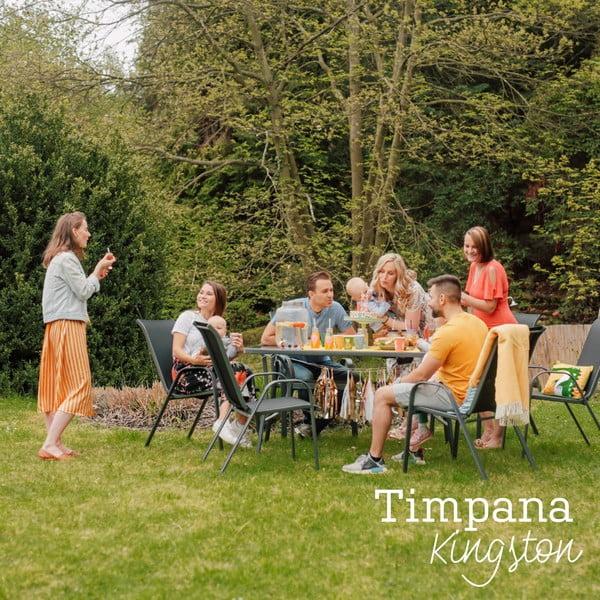 Zestaw metalowych mebli ogrodowych Timpana Kingston
