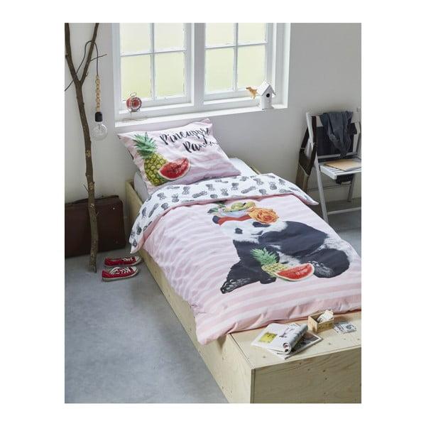 Pościel COVERS & CO Pineapple Panda, 140x220 cm
