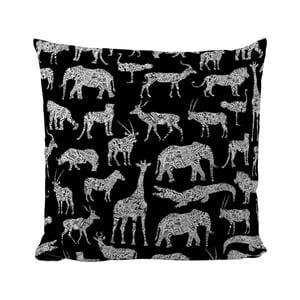 Poduszka Black Shake African Animals, 40x40 cm