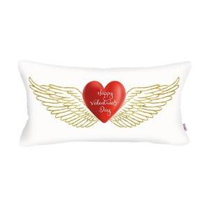 Biała poszewka na poduszkę Apolena Fly, 31x50 cm
