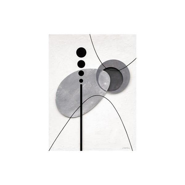 Obraz na płótnie Levitating Elements 60x80 cm
