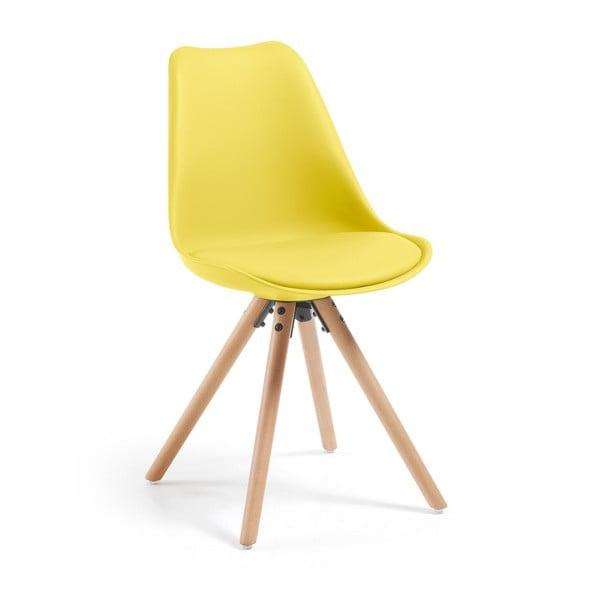 Żółte krzesło Lars
