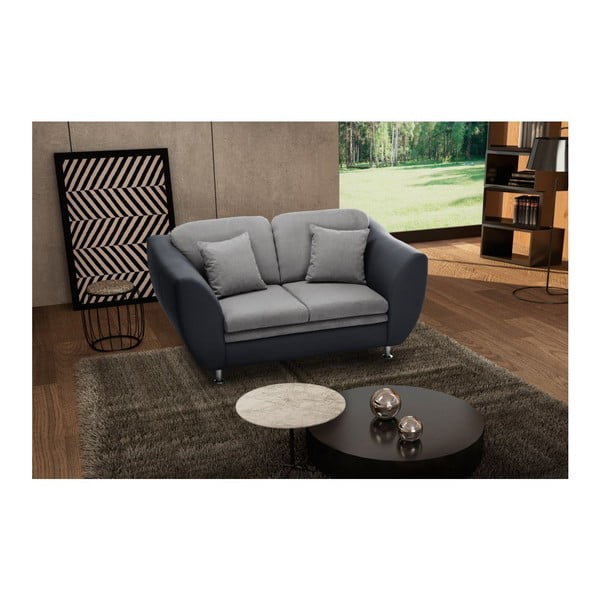 Sofa dwuosobowa Maderna Anthracite/Light Grey