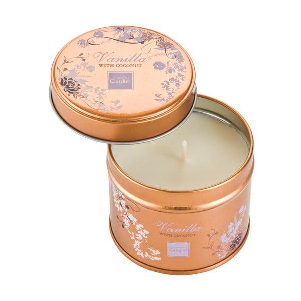 Świeczka zapachowa w puszce Vanilla with Coconut, czas palenia 32 godziny