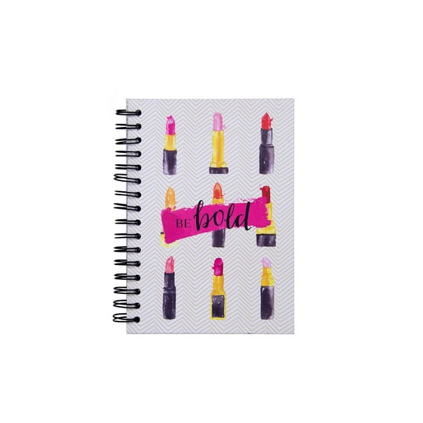 Notes w oprawie bindowanej Tri-Coastal Design Be Bold Lipstick