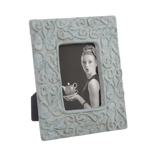 Ramka na zdjęcia Cement Frame in Blue 25x20 cm
