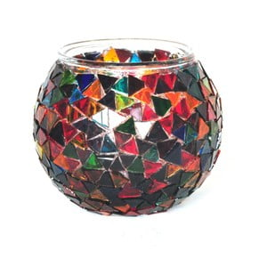 Szklany świecznik Homemania Oriental