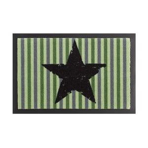 Wycieraczka Zala Living STar Stripes Green, 40x60 cm