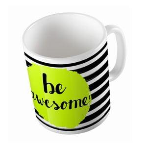 Kubek ceramiczny Be Awesome, 330 ml
