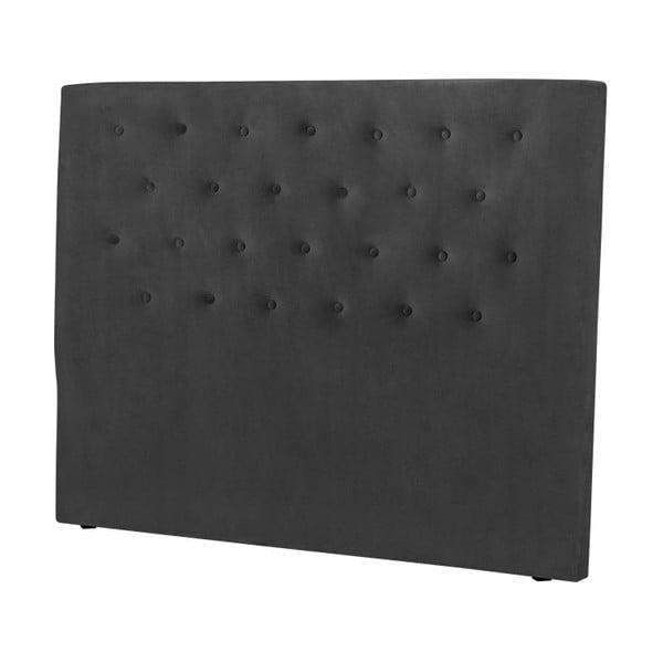 Ciemnoszary zagłówek łóżka Windsor & Co Sofas Astro, 200x120 cm