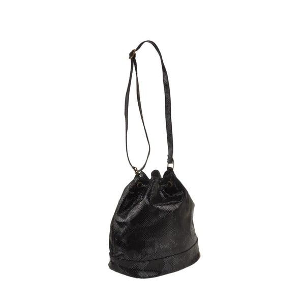 Skórzana torebka Zosca, czarna