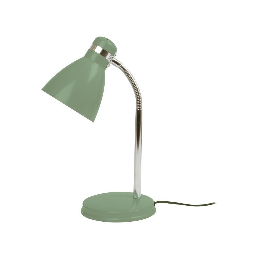 Zielona lampa stołowa Leitmotiv Study