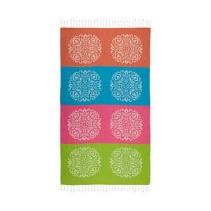 Ręcznik hammam Begonville Bloom, 180x95cm