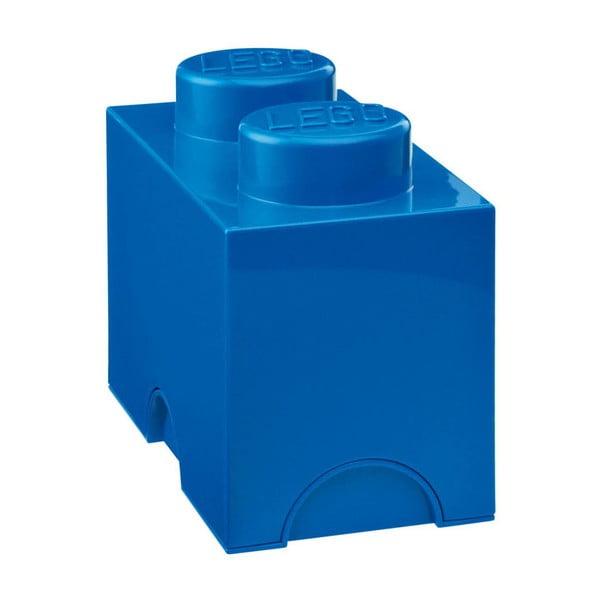 Niebieski pojemnik podwójny LEGO®