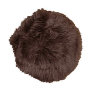 Ciemnobrązowa skóra owcza House Nordic Circle