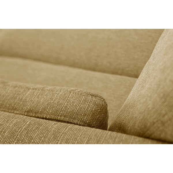 Zestaw fotela i 2 sof dwuosobowej i trzyosobowej Elisa, żółte