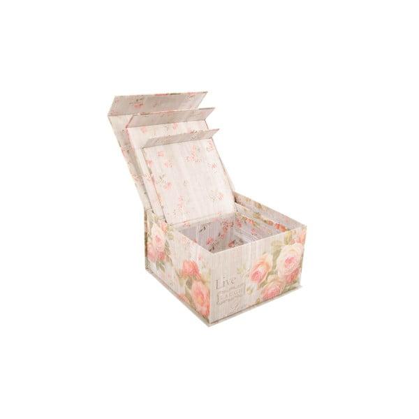 Zestaw 3 pudełek Scatole