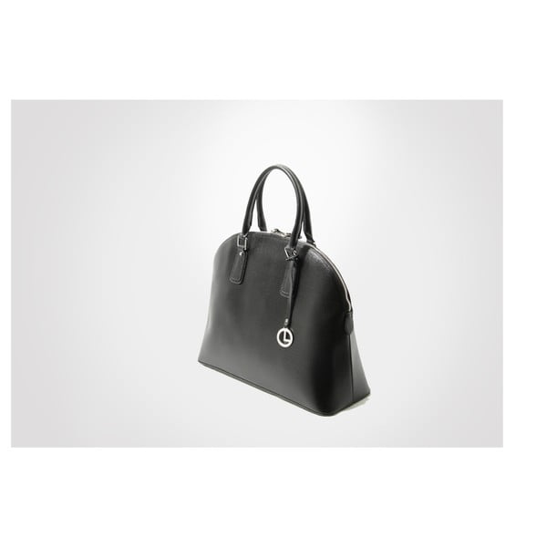 Skórzana torebka Mary, black