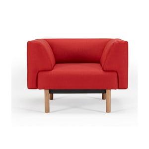 Znalezione obrazy dla zapytania fotel w skandynawskim stylu z czerwonym obiciem