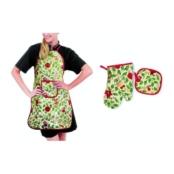 Fartuszek, rękawica i łapka kuchenna Agrifoglio