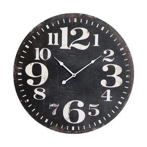 Zegar naścienny Black Numbers
