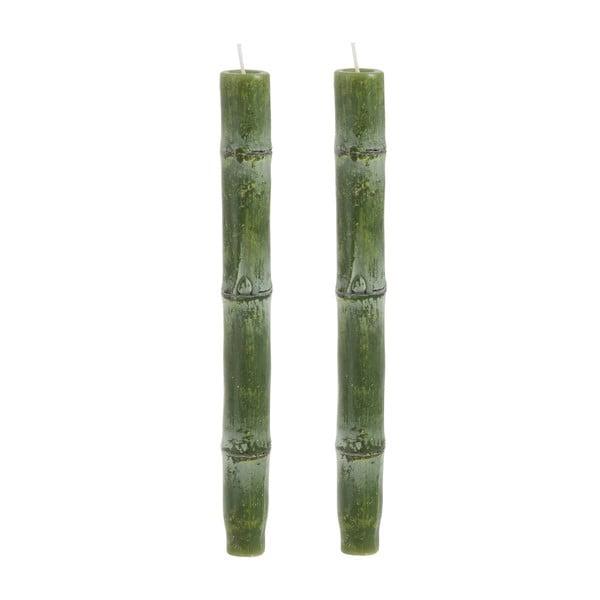 Zestaw 2 świeczek Bamboo