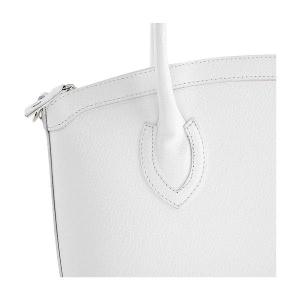 Skórzana torebka Ninety White