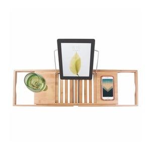 Bambusowa regulowana półka na wannę InterDesign Formbu