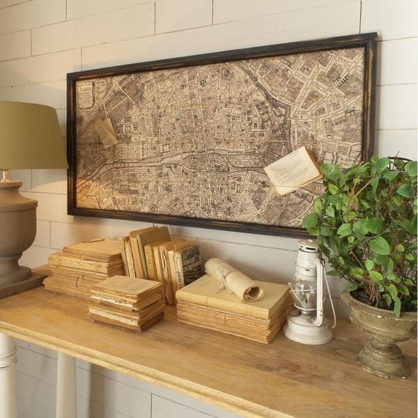 Dekoracja naścienna Deco Old Map