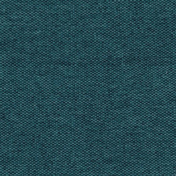 Niebieskie łóżko z czarnymi nóżkami Vivonita Kent, 180x200 cm