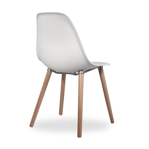 Krzesło Simple Tower Wood White
