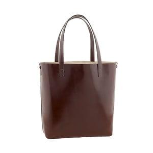 Skórzana torebka Italian Simplicity, brązowa
