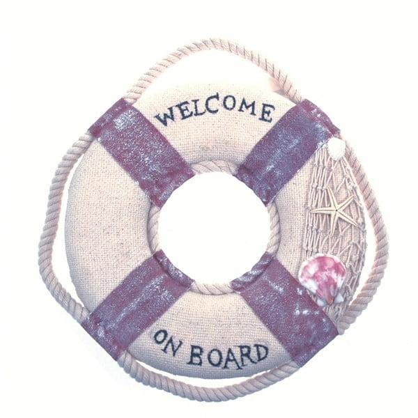 Dekoracja naścienna Welcome on board