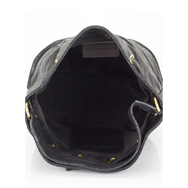 Czarna torebka skórzana Lisa Minardi Prisha