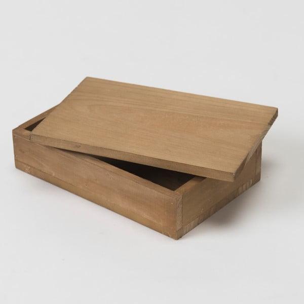 Drewniany pojemnik Vintage Box, 14x9 cm