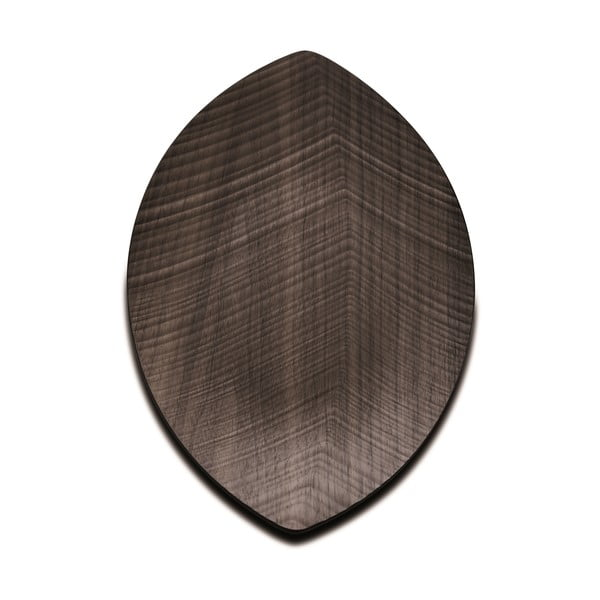 Taca do serwowania Leaf 33 cm, ciemna