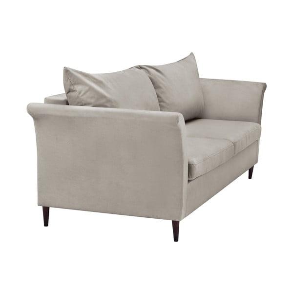 Beżowa rozkładana sofa 3-osobowa ze schowkiem Mazzini Sofas Pivoine