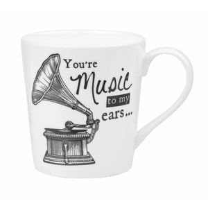 Kubek porcelanowy Churchill Gramophone, 300 ml