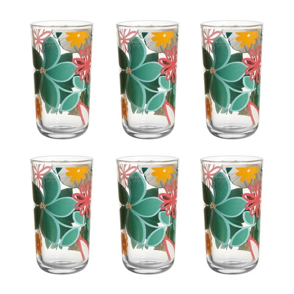 Komplet 6 szklanek Luxuriance