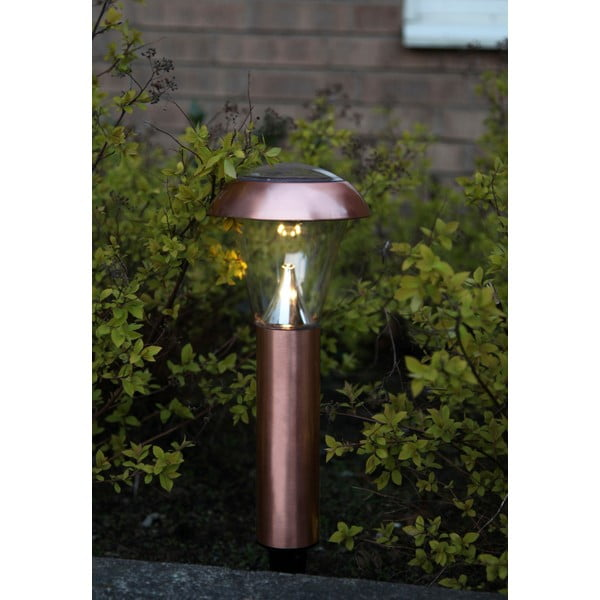 Lampa ogrodowa Solar Energy Garden Light Black Rose