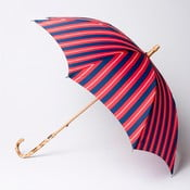 Parasol Alvarez Stripe Red Blue