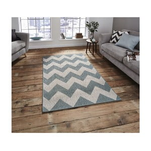 Niebieski dywan Think Rugs Cottage, 160x220 cm