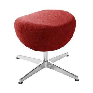 Czerwony puf/podnóżek obrotowy My Pop Design Indiana
