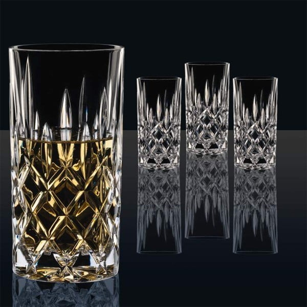 Komplet 4 szklanek ze szkła kryształowego Nachtmann Noblesse, 375 ml