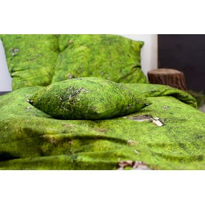 Poszewka na poduszkę Hayka, Mech, 50x60 cm
