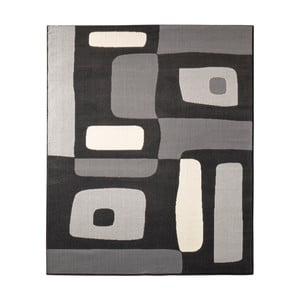 Dywan Hanse Home Hamla Will Black, 80 x 150 cm