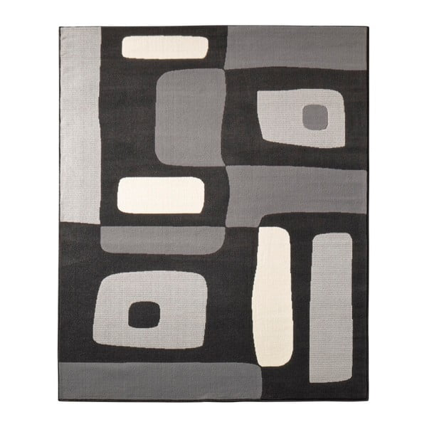Dywan Hanse Home Hamla Will Black, 80 x 150 cm