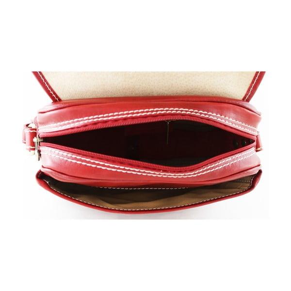 Skórzana torebka unisex Professional Rosso
