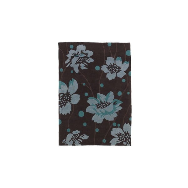 Dywan Hongkong Brown Blue, 90x150 cm
